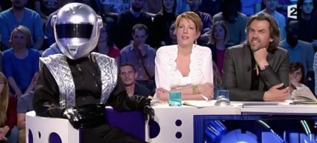 Jonathan Lambert en Daft Punk dans ONPC