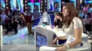 Damien Baïzé – Miss France 2011 Laury Thilleman – Jonathan Lambert (ONPC)